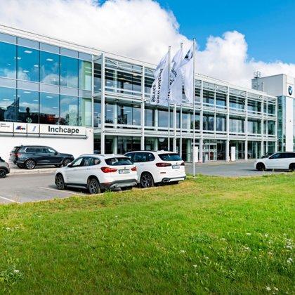 BMW auto salons